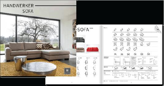 Sofa ganz individuell Hild-Raumausstattung